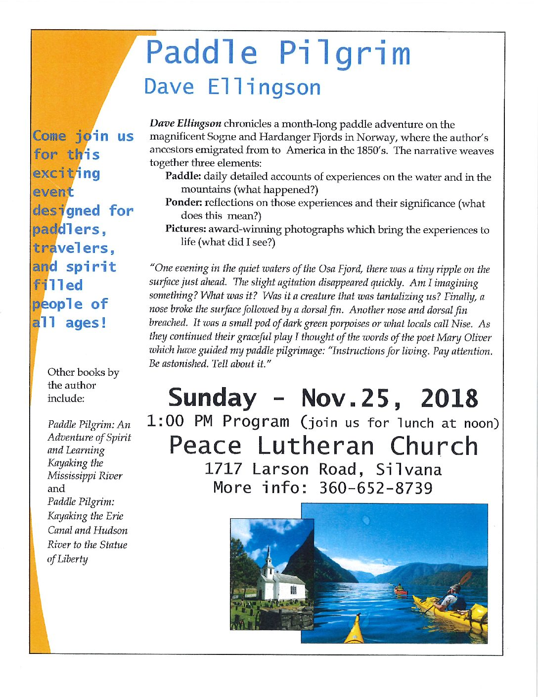 Paddle Pilgrim Event